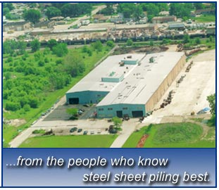 ..from the people who know steel sheet piling best.